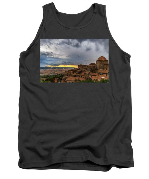Sunset In Volterra Tank Top