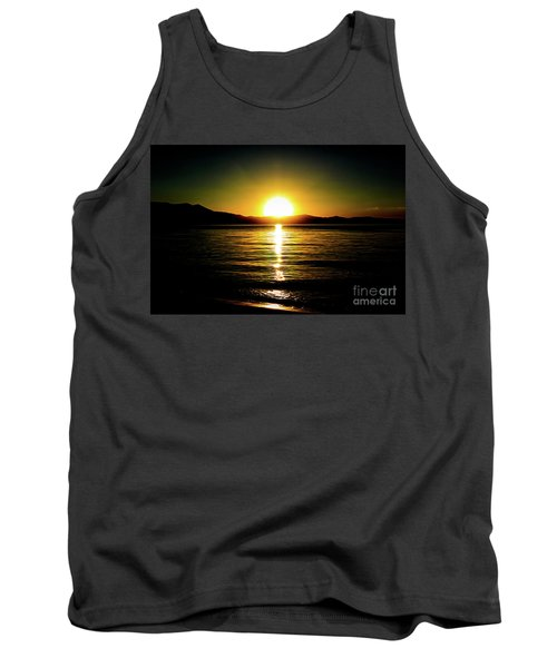 Sunset Lake 2 Tank Top