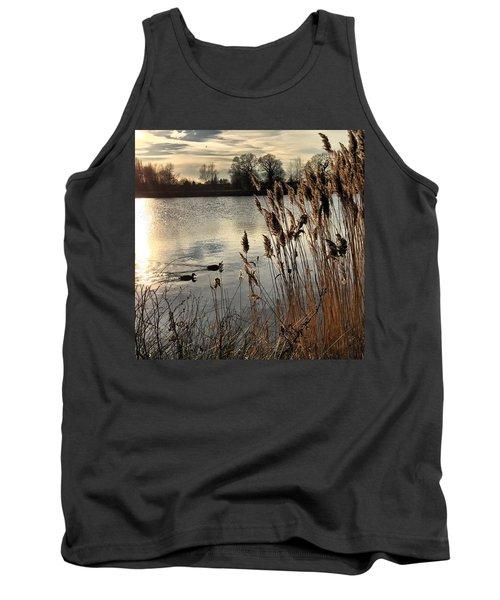 Sunset Lake  Tank Top