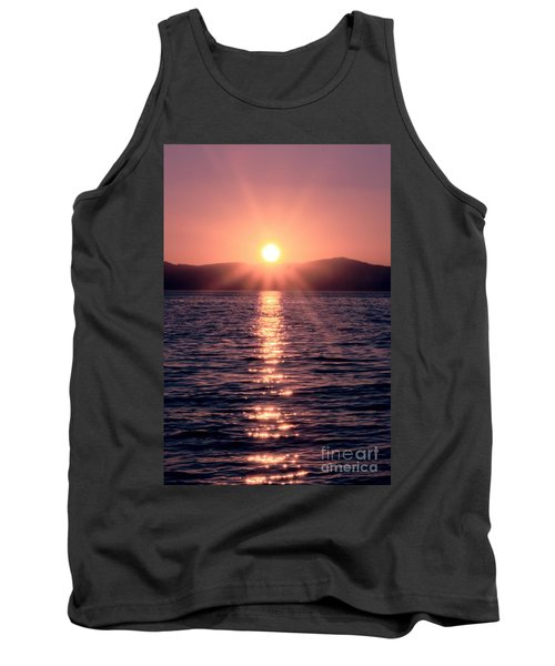 Sunset Lake Verticle Tank Top