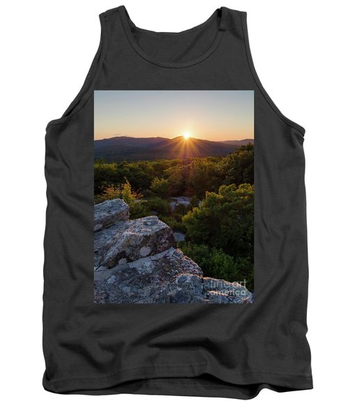 Sunset, Mt. Battie, Camden, Maine 33788-33791 Tank Top by John Bald