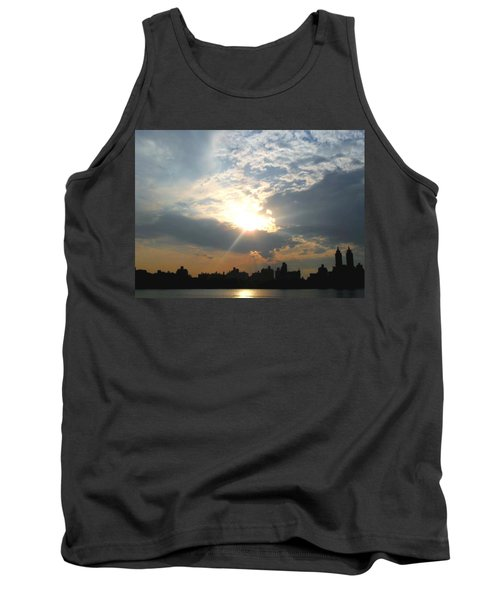 Sunset New York  Tank Top