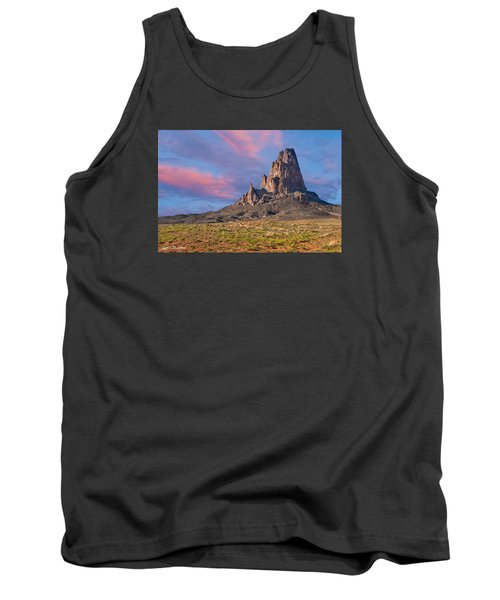 Sunset On Agathla Peak Tank Top