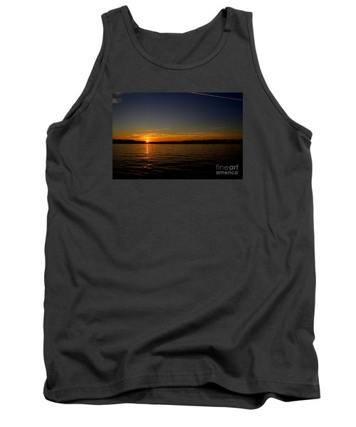 Sunset  On Cape  Ann Tank Top