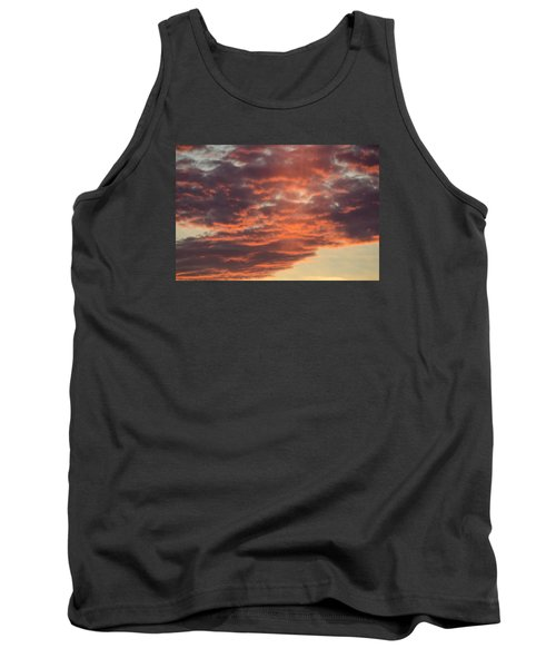 Sunset On Hunton Lane #10 Tank Top by Carlee Ojeda