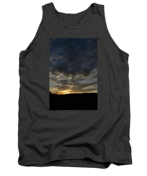 Sunset On Hunton Lane #2 Tank Top by Carlee Ojeda