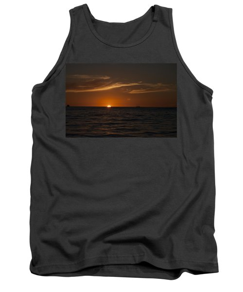 Sunset On Sea Of Cortez Tank Top by Ivete Basso Photography