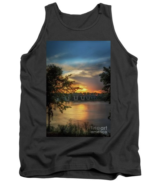 Sunset On The Arkansas Tank Top