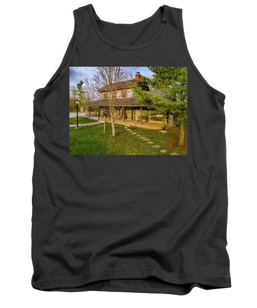 Sunset On The Cabin Tank Top
