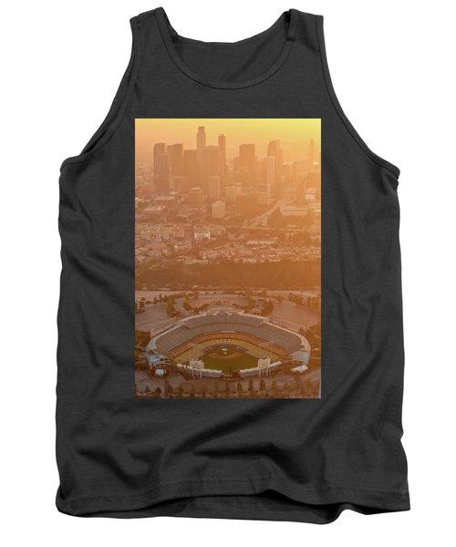 Sunset Over Dodger Stadium Tank Top