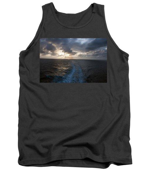 Sunset Over Fort Lauderdale Tank Top by Allen Carroll