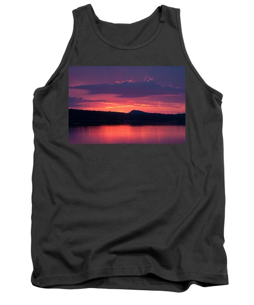 Sunset Over Sabao Tank Top by Brent L Ander