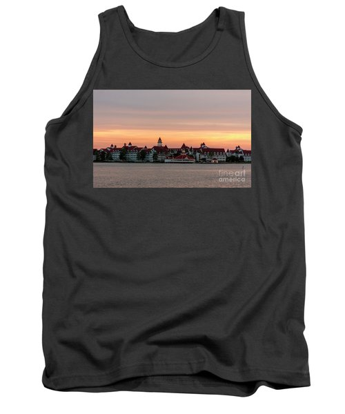 Sunset Over The Grand Floridian Tank Top