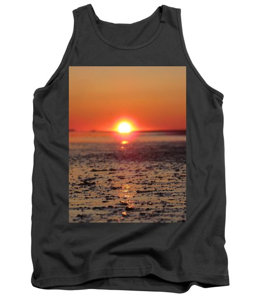 Sunset Over The Sea Tank Top