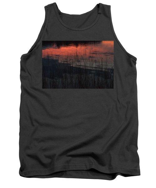 Sunset Reeds Tank Top