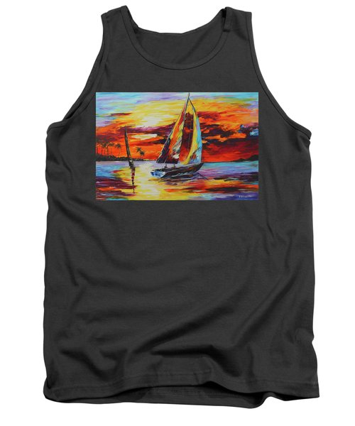 Sunset Sail Tank Top