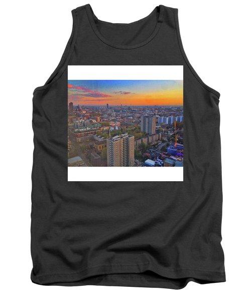 #sunset #skyscraper #38 #38thfloor Tank Top