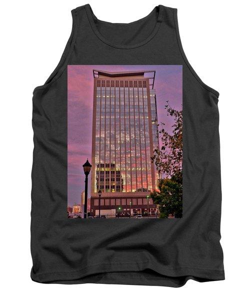 Sunset Skyscraper Tank Top