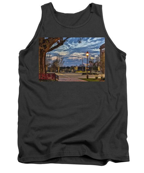 Sunset Square Tank Top