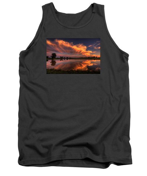 Sunset Symmetry Tank Top