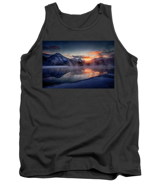 Sunset, Vermilion Lakes Tank Top