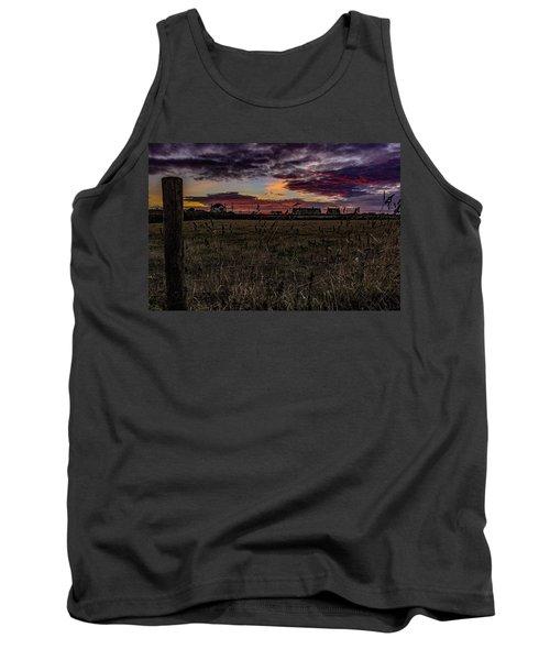 Sunset View  Tank Top