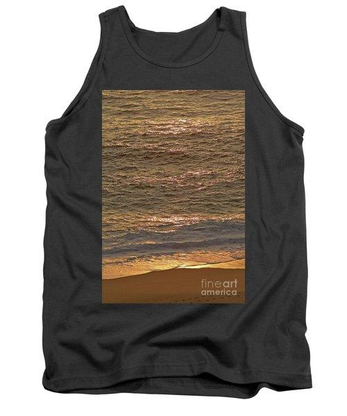 Sunset Waves Over Carmel Beach Tank Top