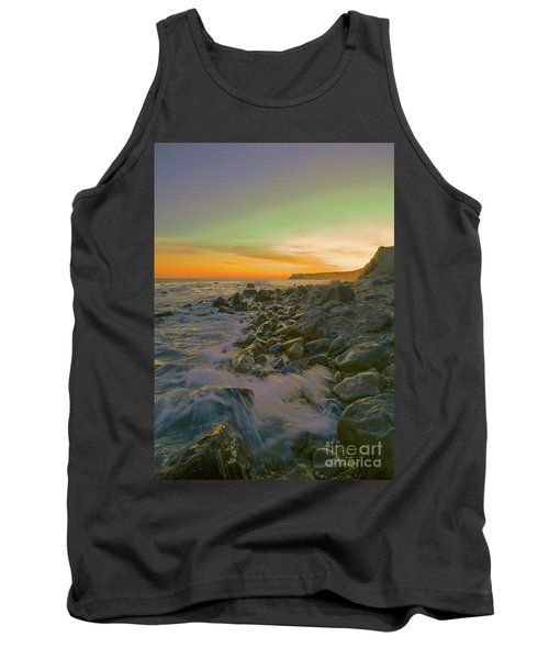 Sunset Waves Tank Top by Todd Breitling