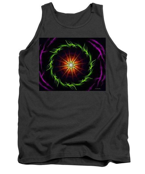 Sunstar Tank Top by Jennifer Galbraith