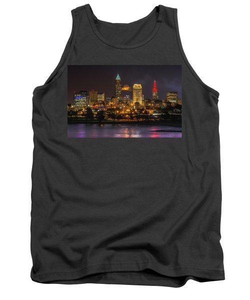 Super Moon 2016 Over Cleveland Tank Top
