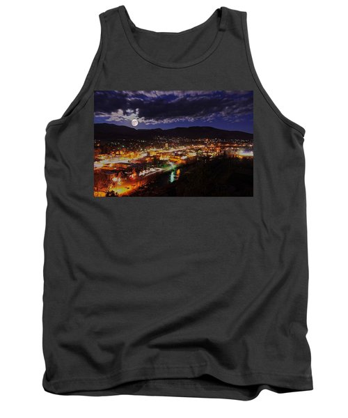 Super-moon Over Steamboat Tank Top