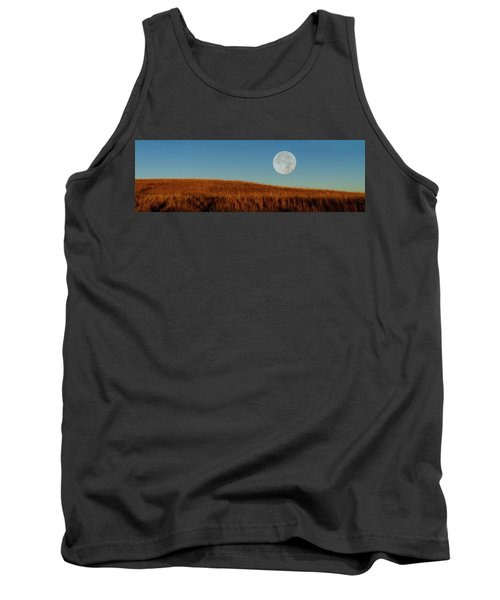 Super Moon Over The Prairie Tank Top