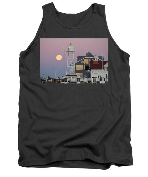 Super Wolf Moon At The Watch Tower Tank Top