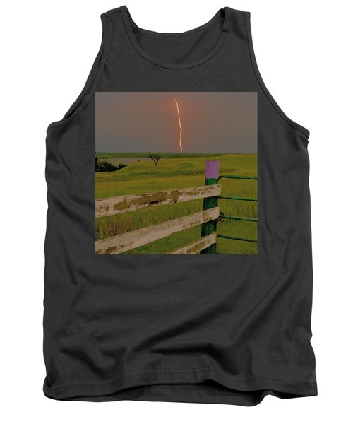 Superbolt At Melvern Lake Tank Top
