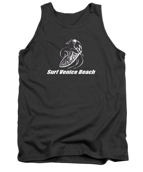 Surf Venice Beach Tank Top by Brian Edward