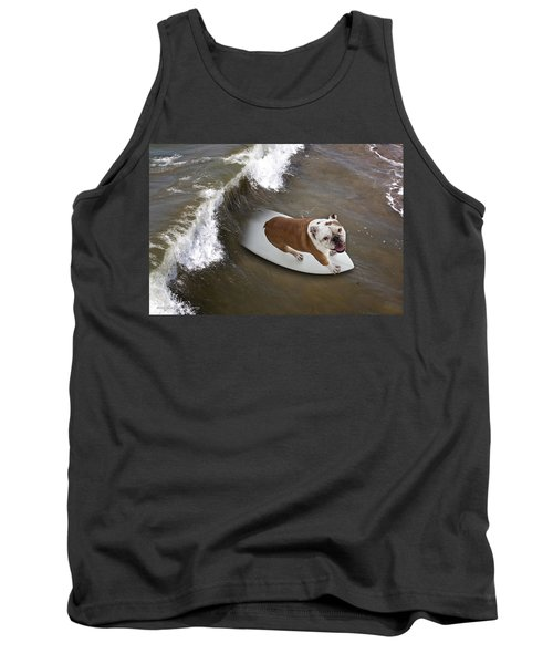 Surfer Dog Tank Top
