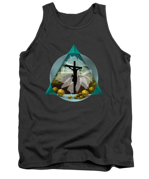 Surreal Crucifixion Tank Top