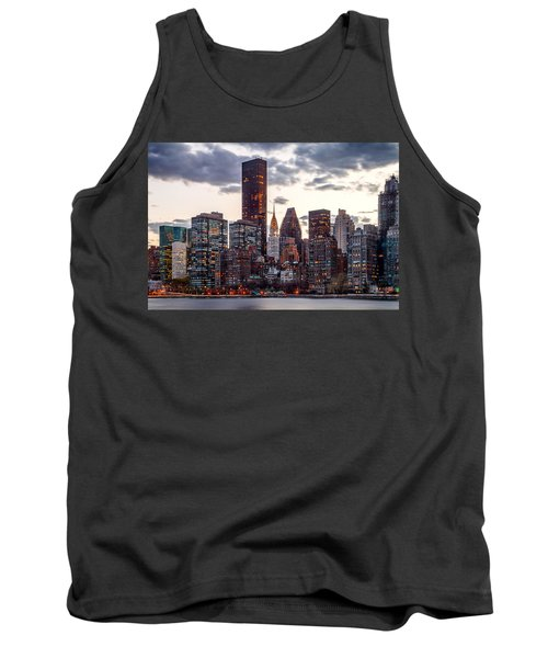 Surrounded By The City Tank Top by Az Jackson
