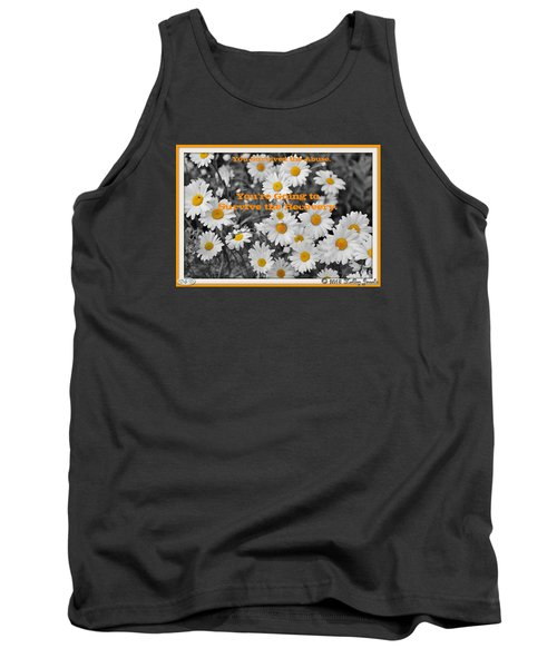 Tank Top featuring the digital art Survive The Recovery by Holley Jacobs