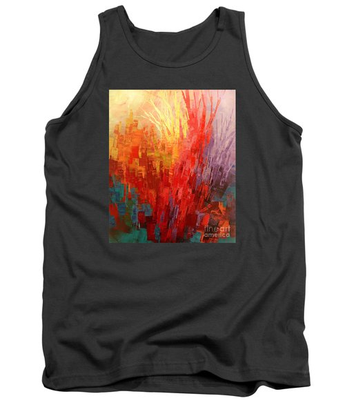 Tank Top featuring the painting Swagger Of A Troubador by Tatiana Iliina