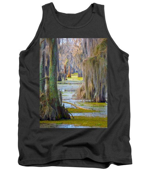 Swamp Curtains In February Tank Top