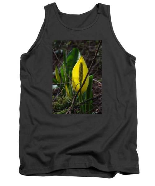 Tank Top featuring the photograph Swamp Lantern by Adria Trail