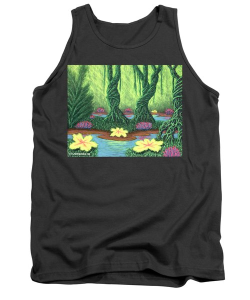 Swamp Things 02, Diptych Panel A Tank Top
