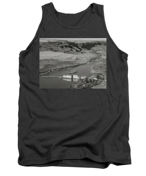 Swan Falls Dam Tank Top