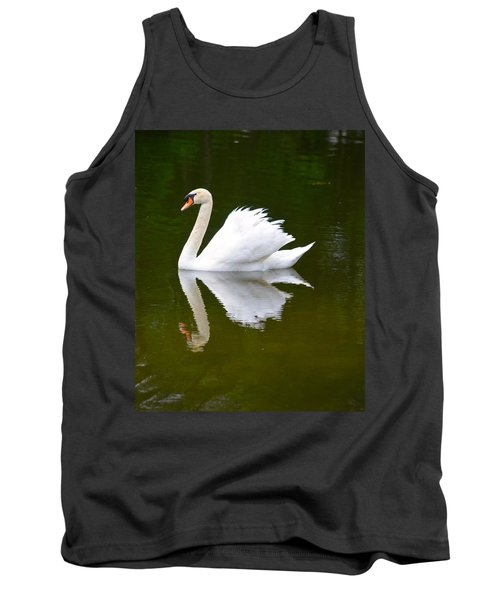 Swan Reflecting Tank Top
