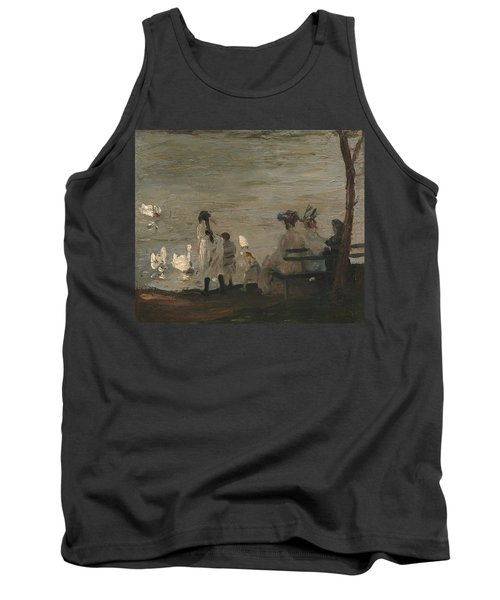 Swans In Central Park Tank Top