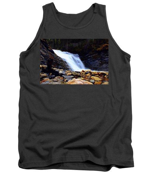Sweet Creek Falls , Wa Tank Top