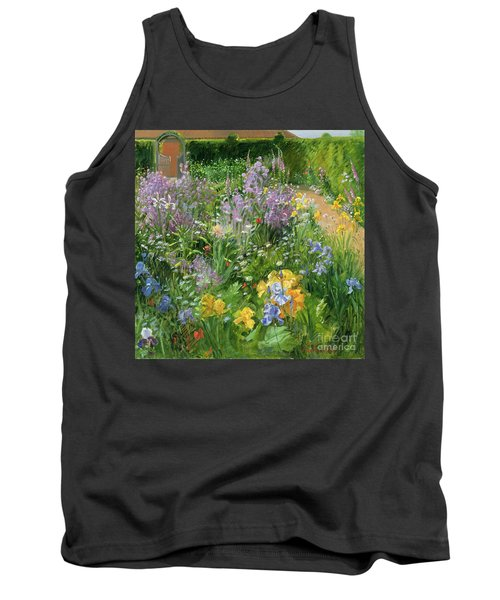 Sweet Rocket - Foxgloves And Irises Tank Top