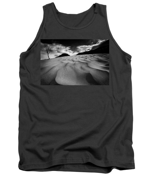 Tank Top featuring the photograph Swerves And Curves In Jasper by Dan Jurak