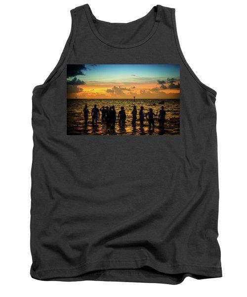 Swimmers Sunrise Tank Top